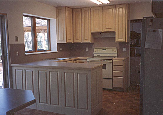 Pickled Kitchen Cabinets